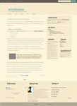 Nooumena Blogger Template by nymphont
