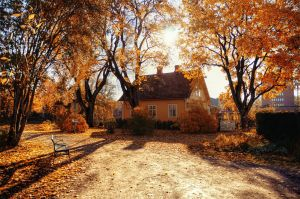 Autumn House by HenrikSundholm