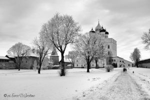 Pskov Kremlyn by bluesman76