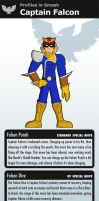 Profiles: Captain Falcon by TriforceJ