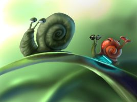Snails by SMcNonnahs