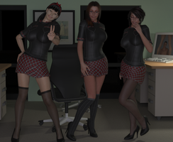 The College Sainte-Marie's Nerd Club by Fembod3d