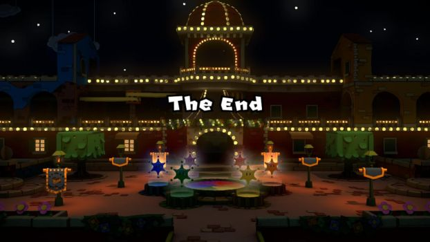 End of Paper Mario ColourSplash by Rellmon
