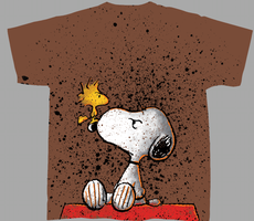 T-Shirt Design Peanuts 07 by RobDuenas