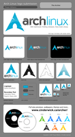 New Archlinux Logo by platinummonkey