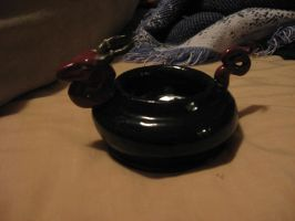 Ceramic dragon bowl by LadySpook