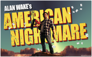 Alan Wake's American Nightmare Wallpaper by NickatNite89