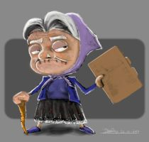 Angry Granny by Foonix1225