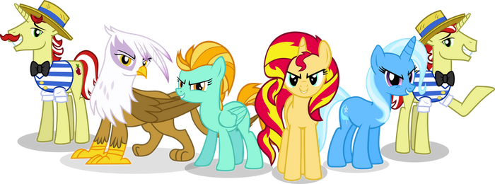 The Antagonist Six by Vector-Brony