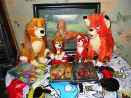 Fox and the Hound Plush by Rika24