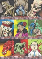 Dead World Sketch Cards by Steevcomix