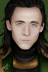Loki - Tom Hiddleston by SauceBox16