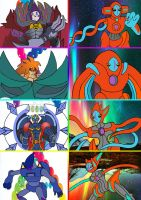 Ultimate D Force: Deoxys and Destiny Heroes by imadmagician