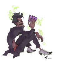 Dr. Facilier Sketch by IsaRistow