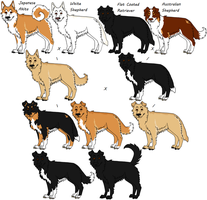 Mixed Breed Request by Leonca