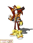 Team Moonslayer: Stryke the Hedgehog by Strykeforce2005