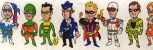 Flash Villains by Mbecks14
