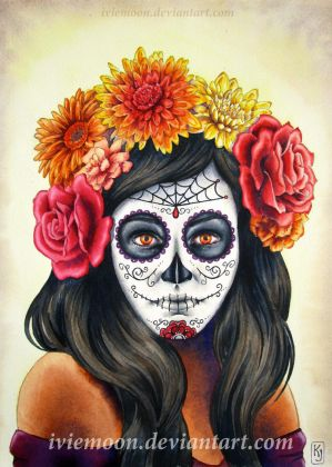 La Catrina II by IvieMoon