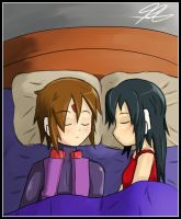 Miaka and Julien: Sleep by Quote-J