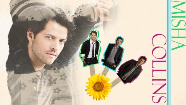Misha Collins Wallpaper by AndroidBrushes