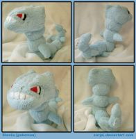 Steelix Plush by sorjei