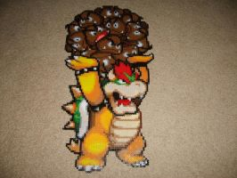 Bowser throwing Goombas by ShampooTeacher