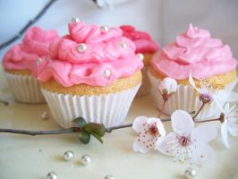 Blossom Cakes II by Nymphaelle