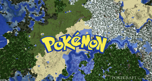 Pokemon Logo in Minecraft (Best version) by PkmnMc