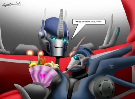 Happy Valetine's Day Arcee by Playstation-Jedi