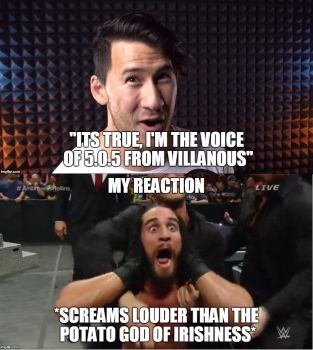 MARKIPLIER IS THE VOICE OF VILLANOUS!!!! by aiko-sweetgirl