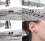 Pokemon Master, Ultra, and Great Pokeball Earrings by Tsurera