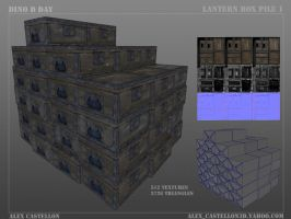 Dino D Day: Lantern Box 1 by Daowg