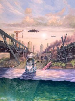 Dalek Invasion of Earth by Harnois75