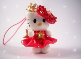 Red Hello Kitty Charm by SophieXSmith