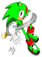 SXR - Addison the Hedgehog by AndiOcelot