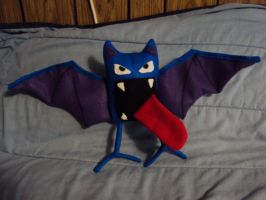 Golbat plushie by mysteriousmage
