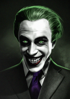 The Man Who Laughs Joker by LitgraphiX