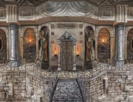 Dungeon enterance by lathander1987