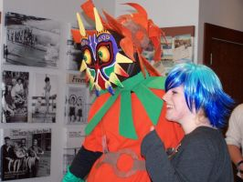 Me with a Blue Haired Lady by Crowbariswin