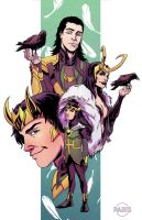 FaH- Loki by ParisAlleyne