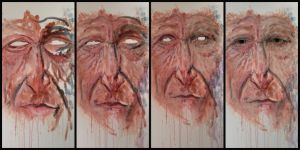The many layers of a face by Troy-Stith