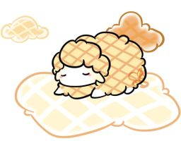 The Waffle Clouds by twiichii