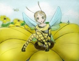 The Bee's Knees by Evalescia