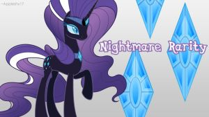 Nightmare Rarity Wallpaper by Appleshy17