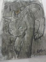 January ACEO trade Prehistoric by XxPuppyProductionsxX
