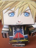 Sora Paper Toy by grifiroh
