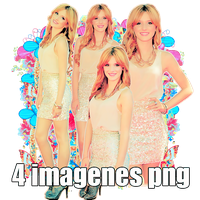 Pack png 04 Bella Thorne by MichelyResources