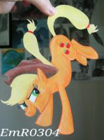 Apple Jack Paper Pony by EmR0304