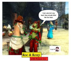 Guild Wars 2 RnR Roc and Roxy Cartoons pic 20 by rocdisjoint