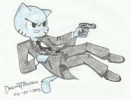 The Transporter Gumball- TAWoG by DASimsTOON2012